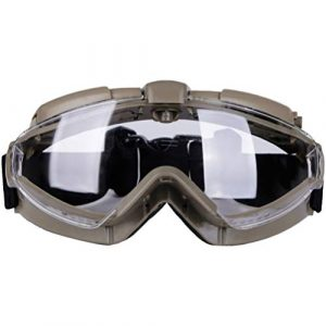 BESPORTBLE Airsoft Goggle 1 BESPORTBLE Eyewear Protective Safety Glasses Anti-Fog Anti-Spitting Anti-Saliva Goggles Eyewear Safety Glasses-Black
