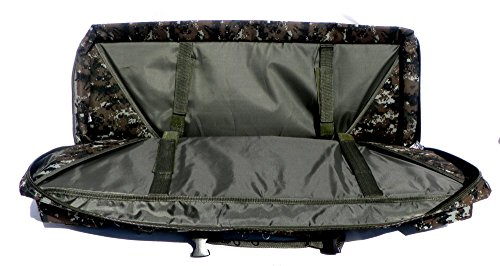 """East West U.S.A Airsoft Gun Case 5 East West U.S.A RTGC604 36"""" Double Tactical Molle Soft Padded Rifle Long Hunting Bag"""