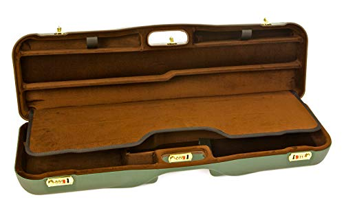 Negrini Cases  2 Negrini Cases 1646LR-3C/4733 Shotgun Case for O/U ABS/1 Gun/3 Barrels to 34 5/8-Inch/Med-Rib