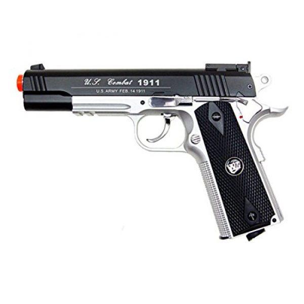 WG Airsoft Pistol 1 500 FPS NEW WG AIRSOFT FULL METAL M 1911 GAS CO2 HAND GUN PISTOL w/ 6mm BB BBs