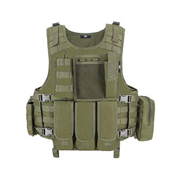 MGFLASHFORCE Airsoft Tactical Vest 1 MGFLASHFORCE Tactical CS Field Vest, Airsoft Paintball Vest