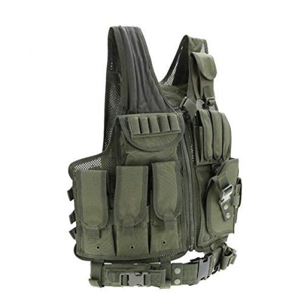 Vioaplem Airsoft Tactical Vest 4 Vioaplem Men's Military Tactical Vest Army Molle Vest Outdoor CS Airsoft Paintball Equipment Body Armor Hunting Vest 4 Colors