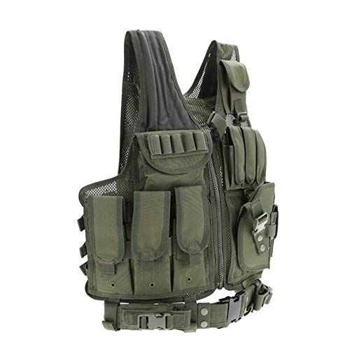 Redland Art Airsoft Tactical Vest 4 Redland Art Men's Military Tactical Vest Army Molle Vest Outdoor CS Airsoft Paintball Equipment Body Armor Hunting Vest 4 Colors Airsoft Tactical Vest