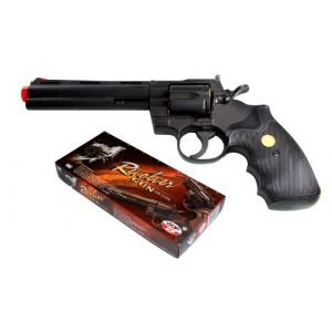 TSD Sports Airsoft Pistol 1 TSD Sports UA938B 6 inch Spring Powered Airsoft Revolver (Black)