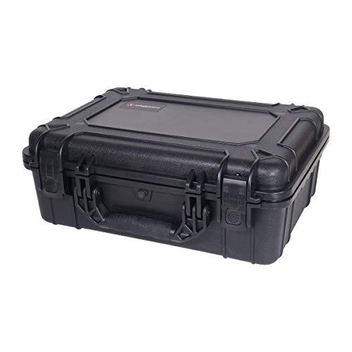 Condition 1 Airsoft Gun Case 5 Condition 1 #227 Black Airtight/Watertight Protective Case with DIY Customizable Foam