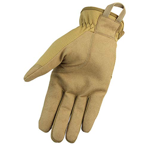 HONGYI Airsoft Glove 2 Breathable Lightweight Outdoor Full Finger Gloves for Work Tactical Paintball Cycling Bicycle Motorcycle Hunting Hiking Shooting