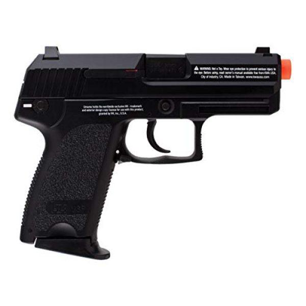 Umarex Airsoft Pistol 3 HK Heckler & Koch USP GBB Blowback 6mm BB Pistol Airsoft Gun, Black, HK USP Compact GBB (2275004)
