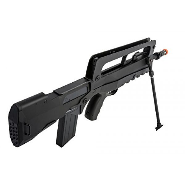 FAMAS Airsoft Rifle 3 Soft Air Famas Foreign Legion Electric Powered Airsoft Rifle with Adjustable Hop-Up, 380-420 FPS