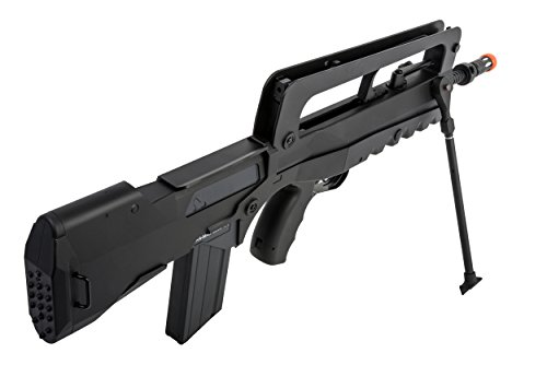 FAMAS  2 Soft Air Famas Foreign Legion Electric Powered Airsoft Rifle with Adjustable Hop-Up