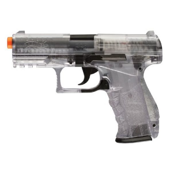 Elite Force Airsoft Pistol 1 Walther PPQ 6mm Spring Airsoft Pistol, Clear