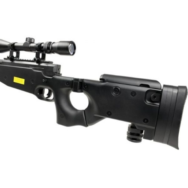 Well Airsoft Rifle 4 Well l96 spring sniper airsoft rifle w/ bi-pod and scope(Airsoft Gun)