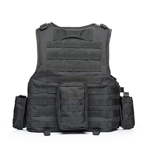 vAv YAKEDA Airsoft Tactical Vest 2 vAv YAKEDA Tactical Vest Military Chest Rig Airsoft Swat Vest for Men