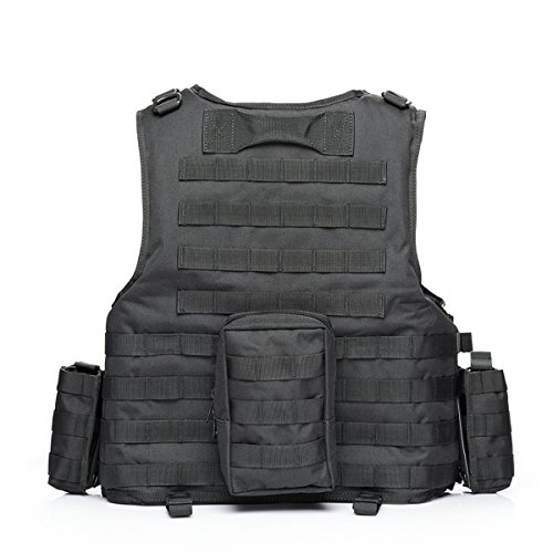 vAv YAKEDA Airsoft Tactical Vest 2 vAv YAKEDA Tactical Vest Military Chest Rig Airsoft Swat Vest for Men