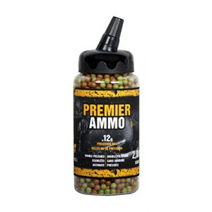 Game Face Airsoft BB 1 GameFace U-SAP2000 Premier Ammo .12-Gram Camo Airsoft BBs (2000-Count)