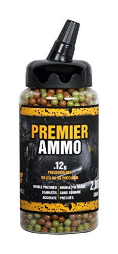 Game Face  1 GameFace U-SAP2000 Premier Ammo .12-Gram Camo Airsoft BBs (2000-Count)