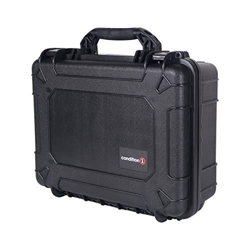 Condition 1 Airsoft Gun Case 6 Condition 1 #227 Black Airtight/Watertight Protective Case with DIY Customizable Foam