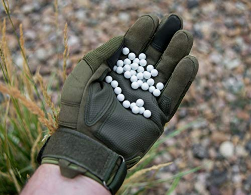 BioShot  4 BioShot 8mm Biodegradable Airsoft BBS .34g Competition MatchGrade (1500 Rounds) Note: These are 8mm BBS. Please do not Purchase Unless You Know You Need an 8mm Round.