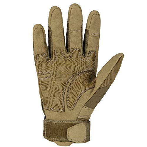 FREE SOLDIER Airsoft Glove 2 FREE SOLDIER Outdoor Full Finger Safety Heavy Duty Work Gardening Cycling Gloves