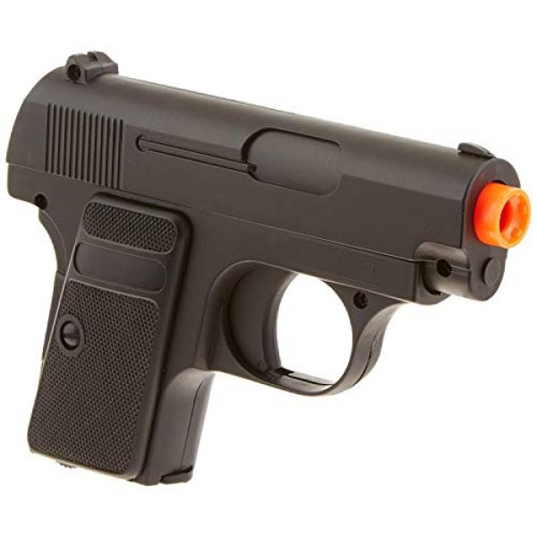 Double Eagle Airsoft Pistol 4 Double Eagle 2 x A&N P328 Compact Spring Airsoft Pistol Hand Gun with 6mm BBS BB Black Great Pistol for Entry Level Airsoft Players