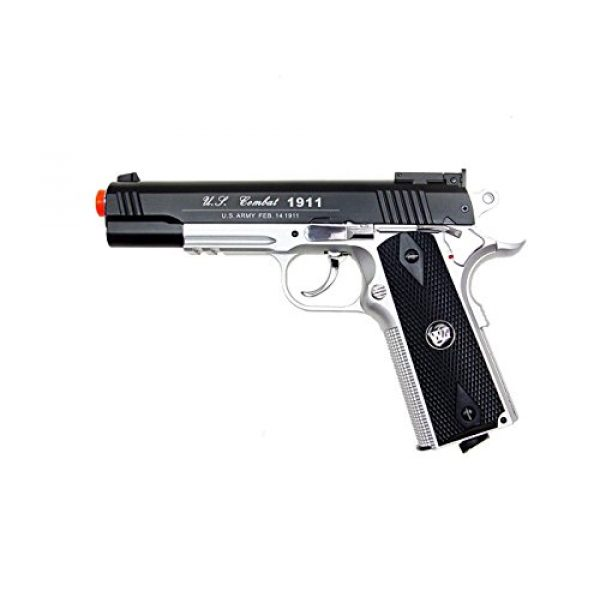 WG Airsoft Pistol 3 500 FPS NEW WG AIRSOFT FULL METAL M 1911 GAS CO2 HAND GUN PISTOL w/ 6mm BB BBs,Heavy Weight Realistic 1:1 Scale
