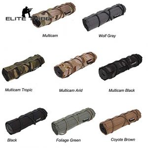 Elite Tribe Airsoft Tool 1 Elite Tribe Airsoft Tactical Rifle Suppressor Cover 18cm Quick Release
