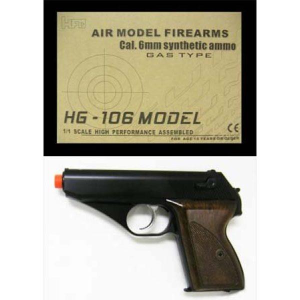 HFC Airsoft Pistol 3 hg-106b3 HFC black gas pistol #hg-106b3 hfc black bb gun hg-106 cal. 6mm(Airsoft Gun)