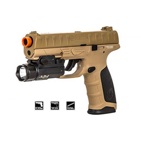 Elite Force Airsoft Pistol 1 Elite Force Beretta APX CO2 Blowback Pistol Airsoft Gun (FDE)