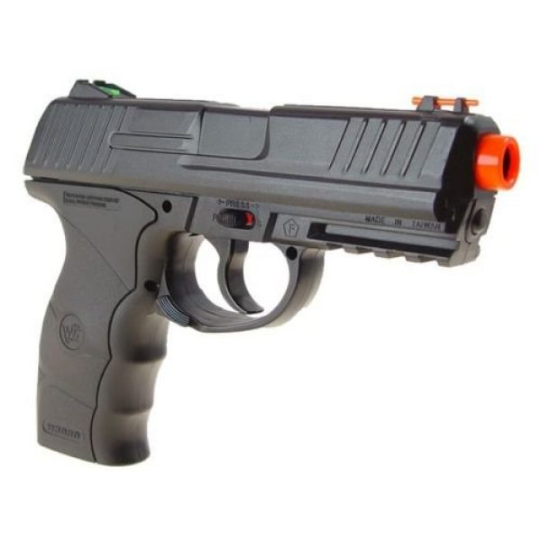 Wingun Airsoft Pistol 3 wingun w3000 full metal co2 airsoft pistol, extra clip, 5 co2 cartridges, 1,200 bb's(Airsoft Gun)