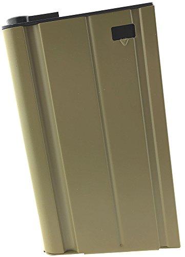 SportPro  1 SportPro 360 Round Metal High Capacity Magazine for AEG Scar-H Airsoft Tan