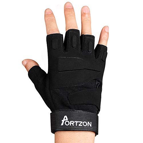 Anti-Slip Gym Gloves with Wrist Strap