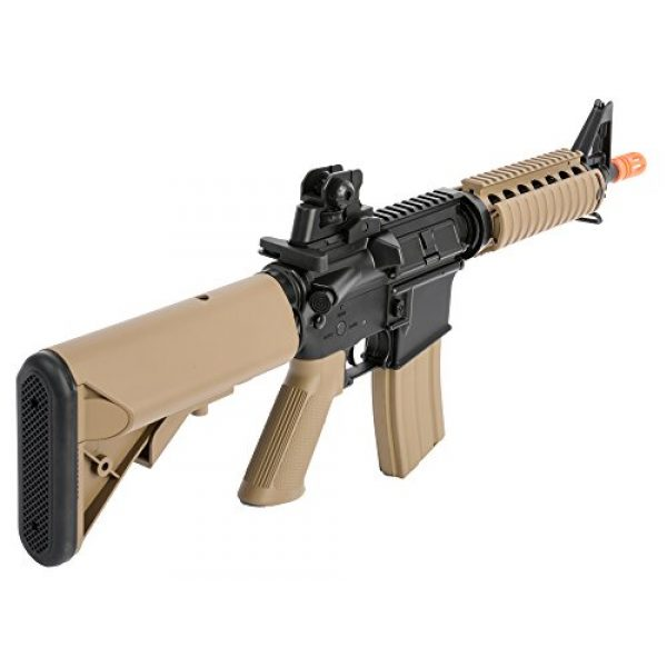 Colt Airsoft Rifle 2 Colt Soft Air CQBR-RIS Electric Powered Airsoft Gun with Adjustable Hop-Up, 350-380 FPS