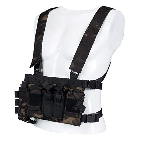 Trdio Airsoft Tactical Vest 1 Trido Chest Rig Tactical Airsoft