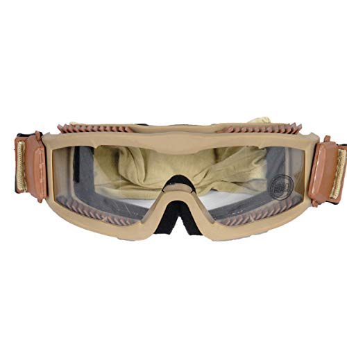 Destinie Airsoft Goggle 3 Destinie Lancer Tactical Airsoft Vented Safety Goggles Glasses Eye Wear Googles TAN