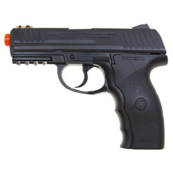 Wingun Airsoft Pistol 4 wingun w3000 full metal co2 airsoft pistol, extra clip, 5 co2 cartridges, 1,200 bb's(Airsoft Gun)