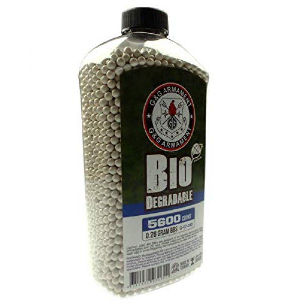G&G Airsoft BB 1 G&G Bio BB 0.28g (Bottle/5600 Pellets) (White)