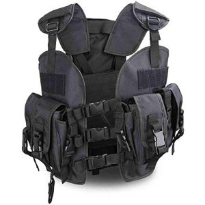 Tactical Area Airsoft Tactical Vest 1 Outdoor Sealed Tactical Vest with Removable Water Bag, Airsoft Paintball, Combat Combat, Commando CS Field Equipment.