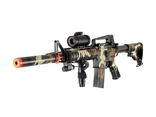 Double Eagle  1 Double Eagle M832A2CAMO AEG Tactical Airsoft Rifle Gun