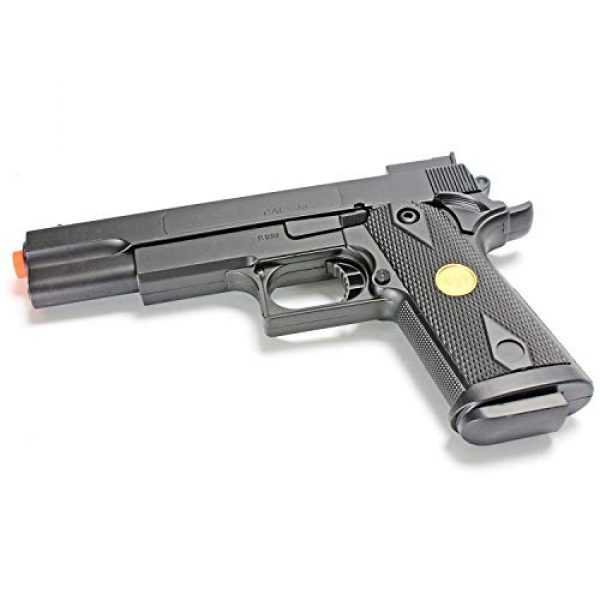 BBTac Airsoft Rifle 7 BBTac Airsoft Gun Package Desert Raider - Powerful Spring Rifle, Pump Action Shotgun, SMG, Two Pistols and BB Pellets, Preimum Airsoft Starter Pack