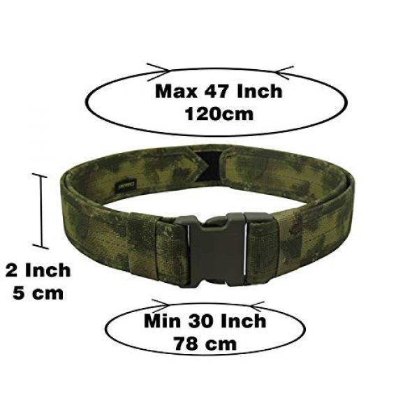 tactic.world Airsoft Tactical Vest 7 tactic.world MOLLE Tactical Modular Belt Chest Rig Vest Airsoft Paintball