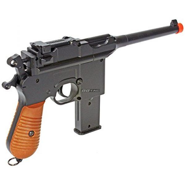 BBTac Airsoft Pistol 2 BBTac BT-712 World War II 165 FPS C96 Metal Zinc Alloy Airsoft Pistol with Magazine