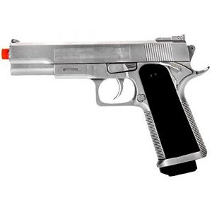UKARMS Airsoft Pistol 1 G153S M1911 Airsoft Spring Pistol Handgun Silver 1911