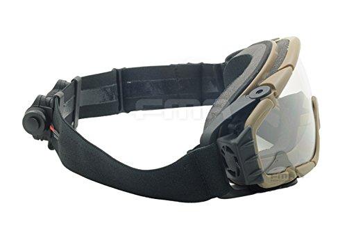 ATAIRSOFT Airsoft Goggle 4 ATAIRSOFT Wind-Shield Protective Airsoft Ski Bike Goggles Mini Fan System