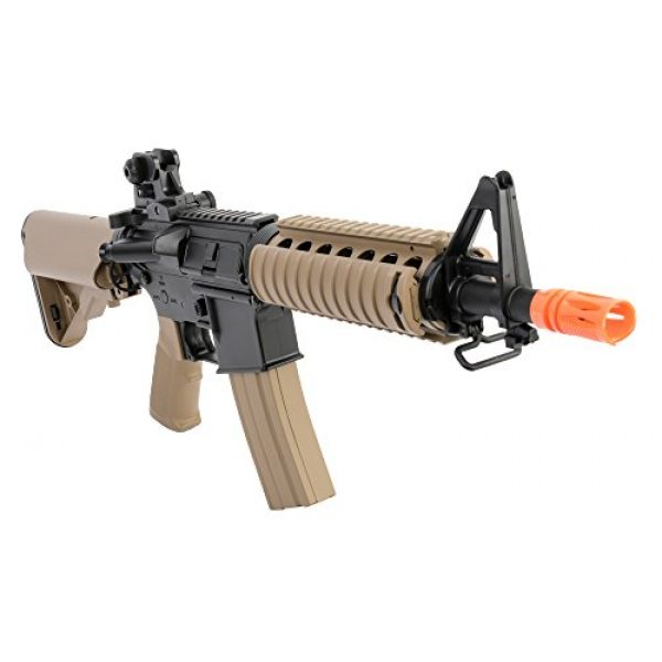 Colt Airsoft Rifle 5 Colt Soft Air CQBR-RIS Electric Powered Airsoft Gun with Adjustable Hop-Up, 350-380 FPS