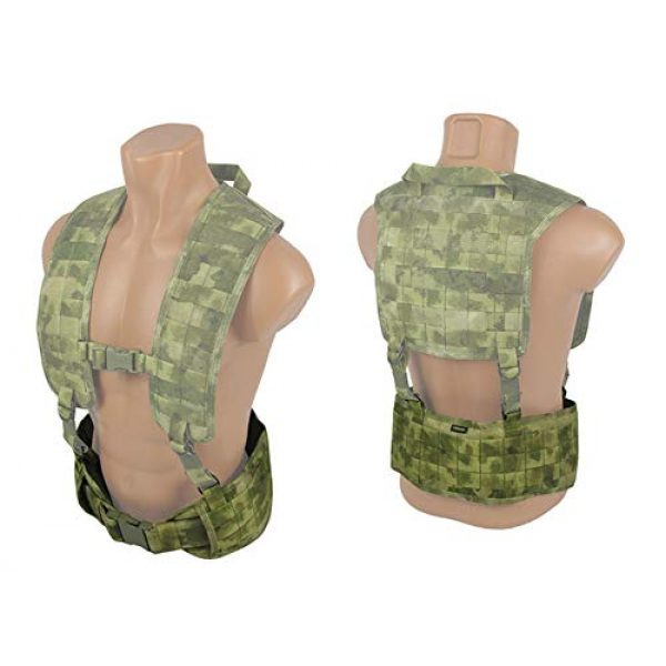 tactic.world Airsoft Tactical Vest 6 tactic.world MOLLE Tactical Modular Belt Chest Rig Vest Airsoft Paintball