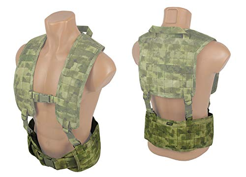 tactic.world  6 tactic.world MOLLE Tactical Modular Belt Chest Rig Vest Airsoft Paintball
