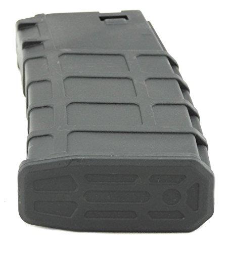 LONEX  2 Lonex Airsoft M Series Scar Plastic Black PMAG Magazine 200 RDS ASG MID Cap