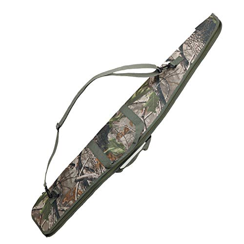 SOWLAND Airsoft Gun Case 1 SOWLAND Rifle Case 44/48/52 Inch Padded Scoped Long Shotgun Case Tactical Hunting Shooting Range Sports Storage Bag