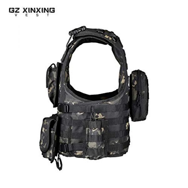 GZ XINXING Airsoft Tactical Vest 3 GZ XINXING Tactical Airsoft Paintball Vest