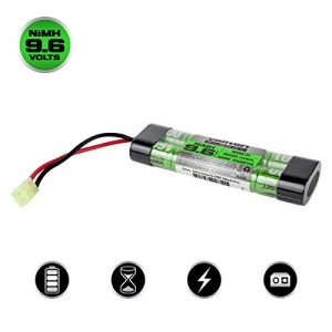 Valken Airsoft Battery 1 Valken Airsoft Battery - NiMH 9.6v 1600mAh Mini Brick Style