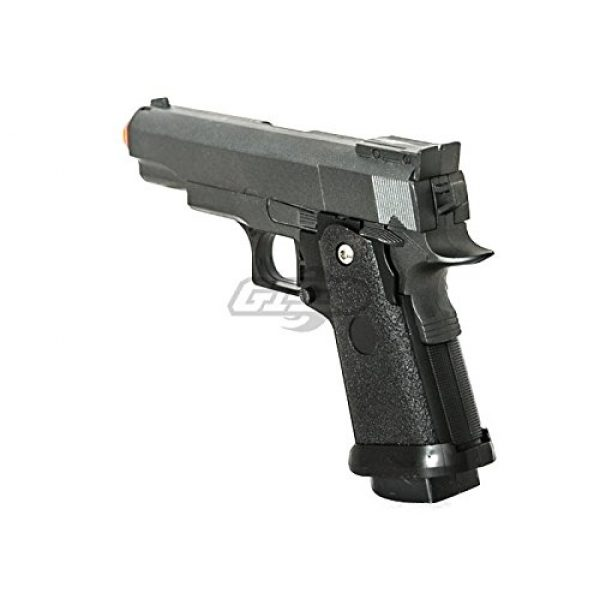 UKARMS Airsoft Pistol 6 UK Arms G10A Mini M1911 Hi Capa 4.3 Metal Spring Airsoft Pistol – Metal Spring Airsoft Gun for Beginners (Black)